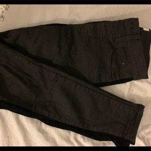"Madewell 9"" High Rise Skinny Black Jeans"